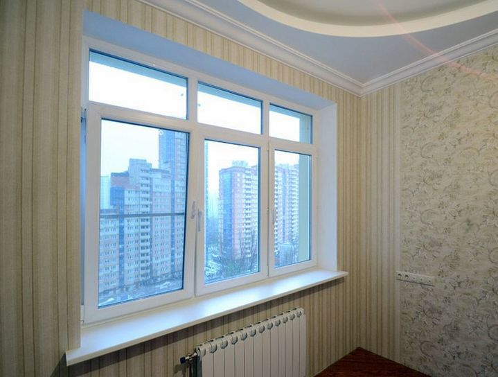 Fereastră PVC Apartament Super Okna MD